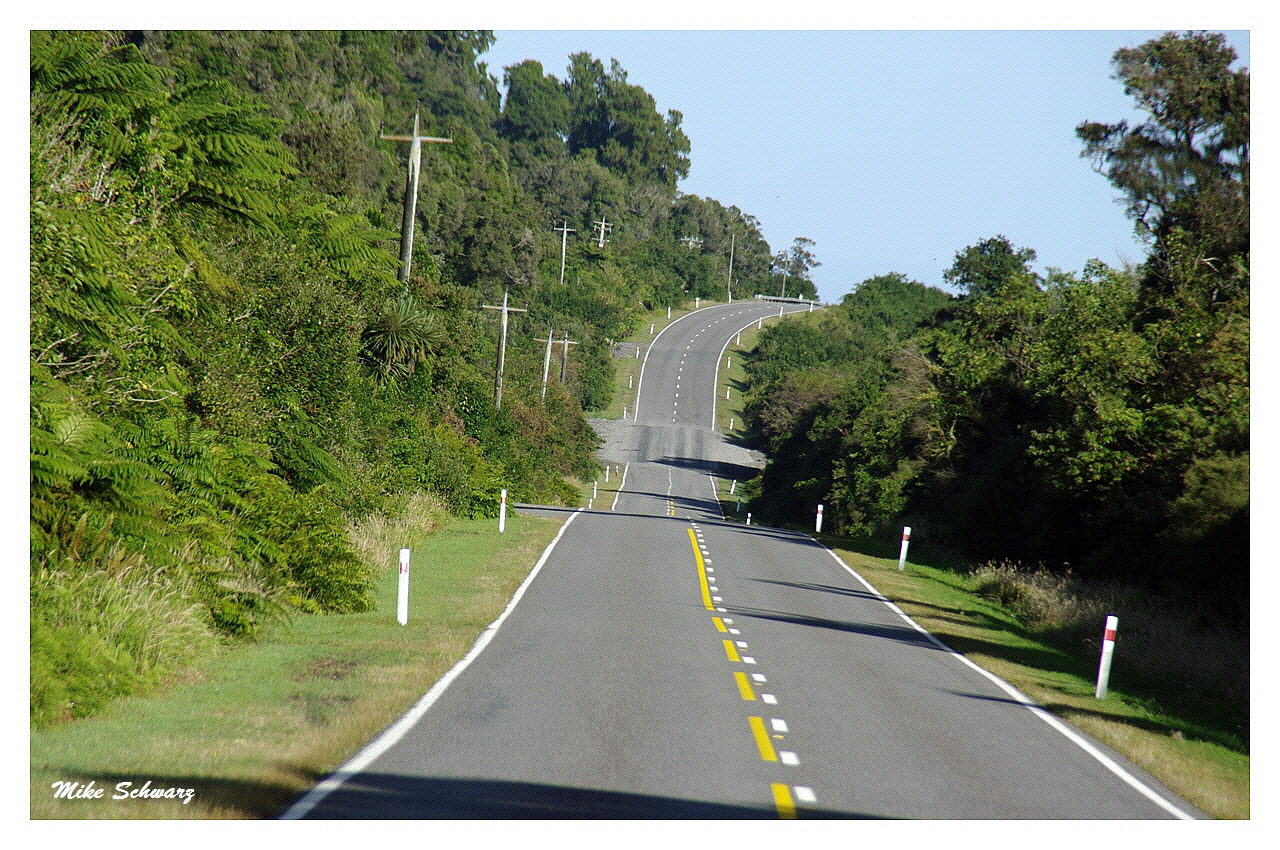 Straße Südinsel