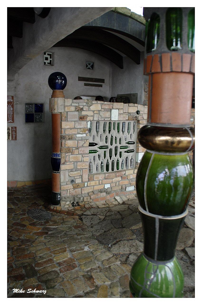 WC Friedensreich Hundertwasser