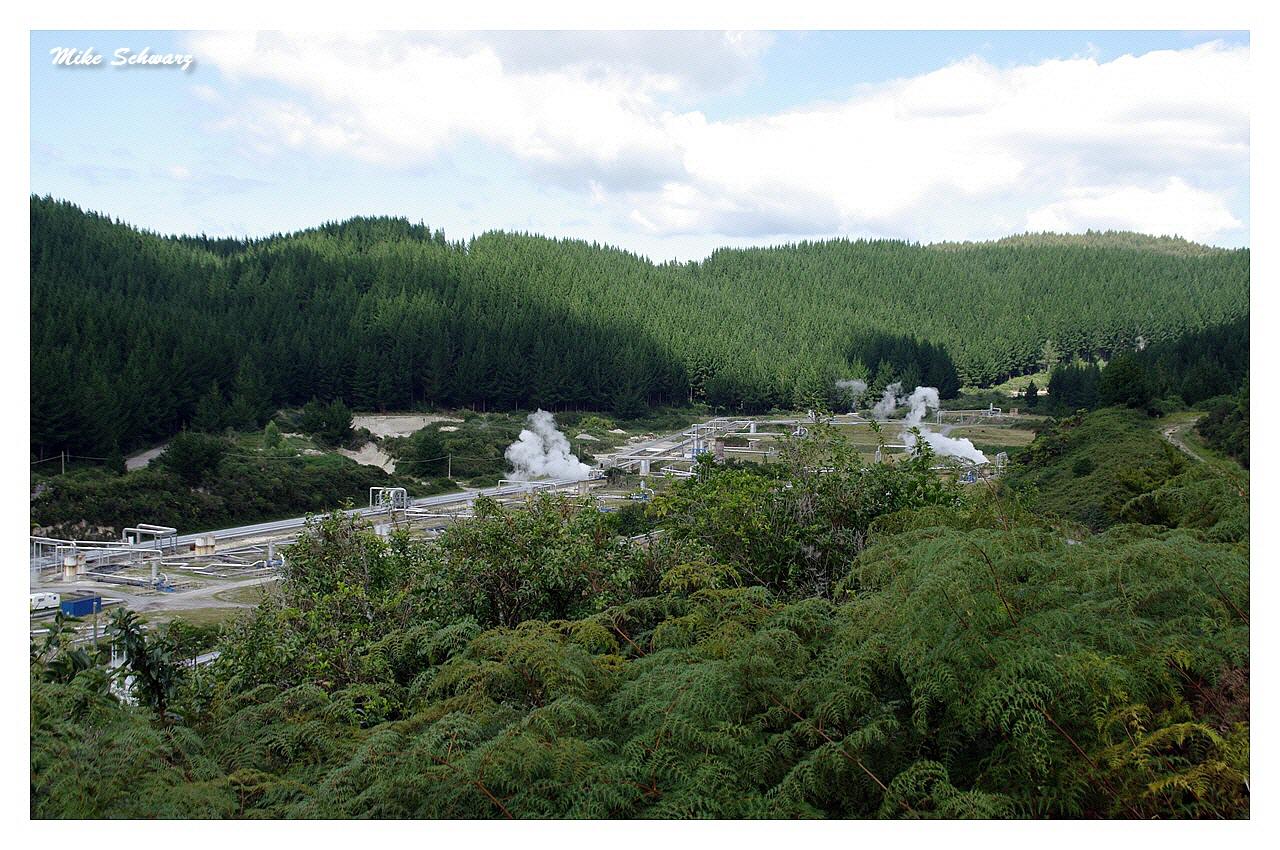 Geothermisches Kraftwerk Wairakei