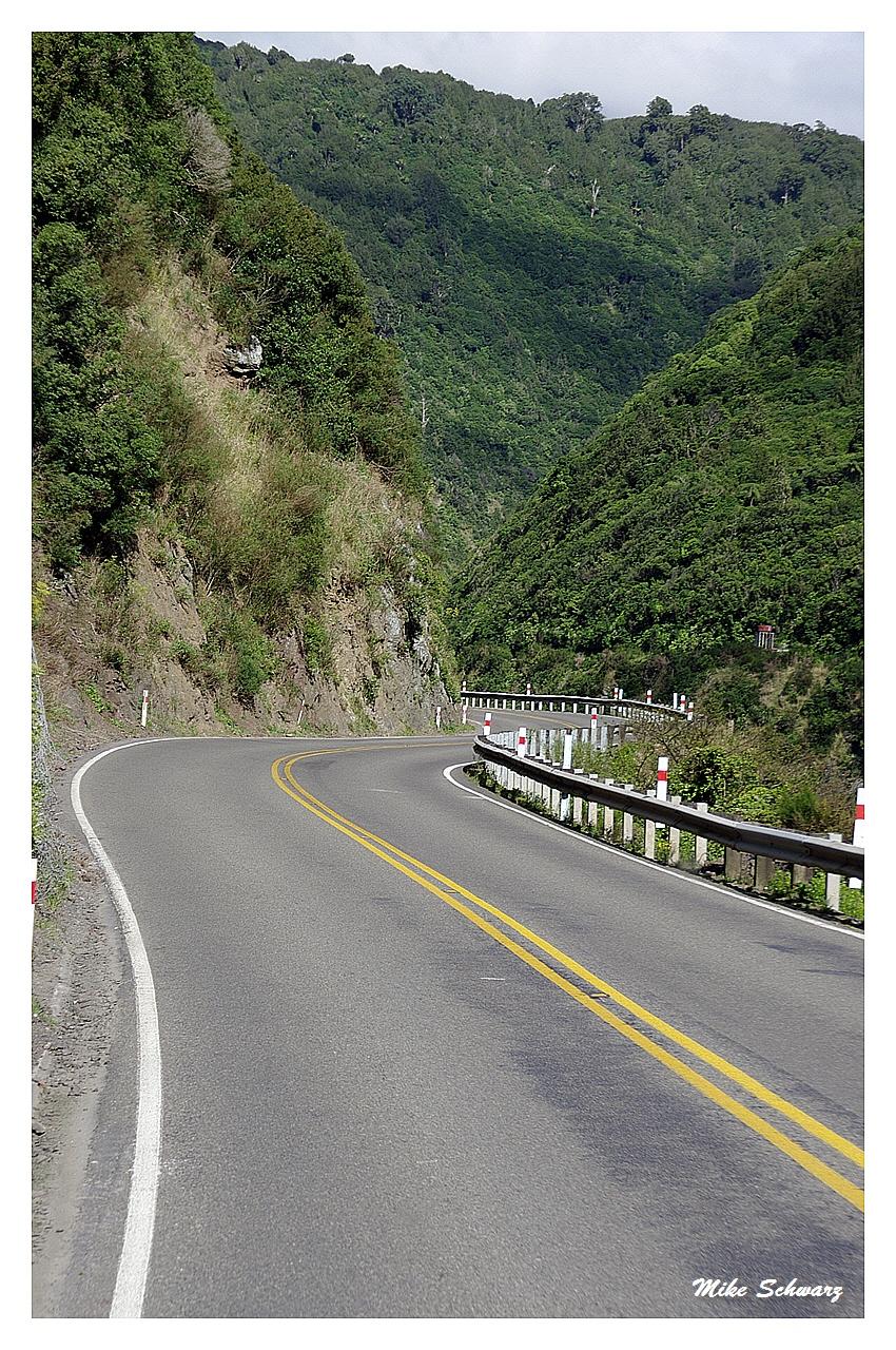 Straße Nordinsel Neuseeland